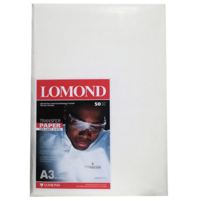 Термотрансферная бумага Lomond для струйной печати A3