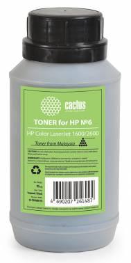 Тонер Cactus 958121 CS-THP6BK-95 черный флакон 95гр. для принтера HP CLJ 1600/2600