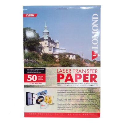Термотрансферная бумага Lomond для лазерной печати A4, 140г/м2, 50л (0807435)