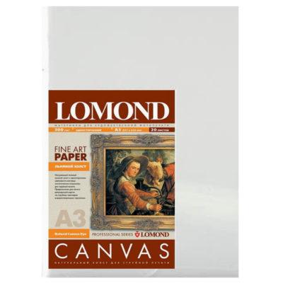 Фотобумага Lomond холст, матовый A3, 300г/м2, 20л (0908312)