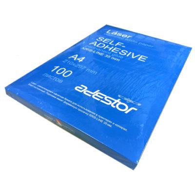 Adestor Laser, самоклеящаяся универсальная бумага , А4, 100 л