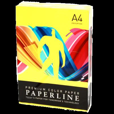 Бумага PAPERLINE CYBER HP YELLOW 75 г/м2, А4, 500 л