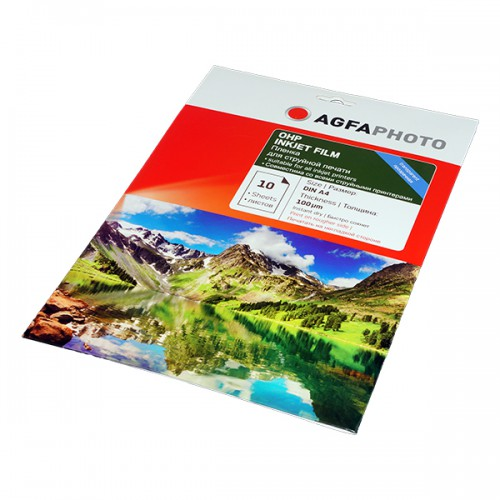 Пленка AGFAspecial глянецевая, прозрачная 100 mic 10 листов (2.03.10)