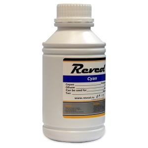 Чернила Revcol для Epson, Cyan, Dye, 500 мл. 126403