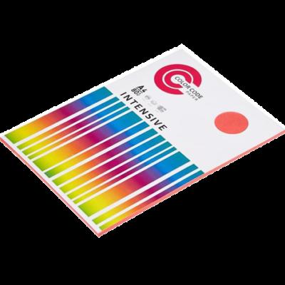 Бумага цветная ColorCode микс (intensive), 80г, А4, 100 листов