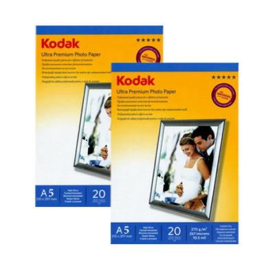 Фотобумага Kodak А5 суперглянцевая 270г/м 20л., артикул 1.04.03.21, ( 64136 )