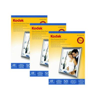 Фотобумага Kodak суперглянцевая 270 г/м², 10х15, 50 л