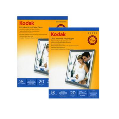Фотобумага Kodak суперглянцевая 270 г/м², 13х18, 20 л