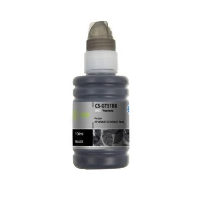 Чернила Cactus CS-GT51BK (100 мл) черный для DeskJet GT 5810, 5820, 5812, 5822, 414636
