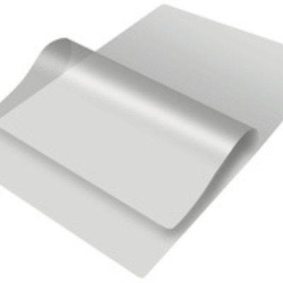 Плёнка глянцевая для горячего ламинирования А6 (111х154мм) 100мкм 100л. Эконом-класс