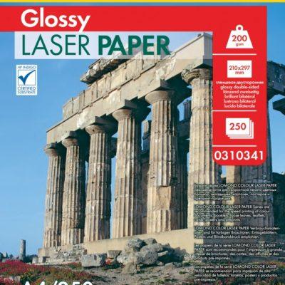Фотобумага Lomond двухсторонняя глянцевая для лазерной печати A4, 200г/м2, 250л (0310341)
