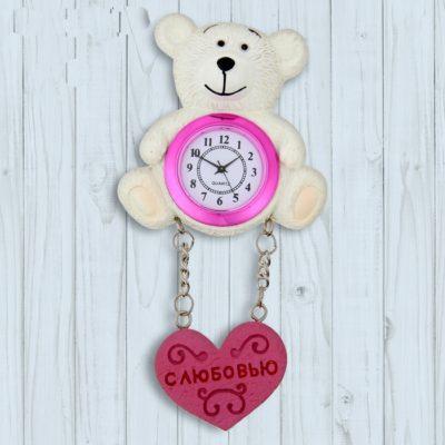 Часы - магнит «С любовью» (1016412)