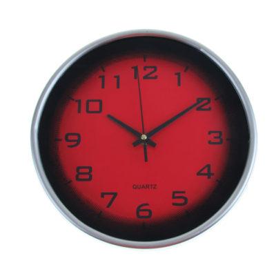 """Часы настенные """"Тени"""", цвет красный 1031015"""