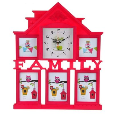Часы настенные «Family House», цвет красный (1296075)
