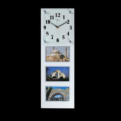 Часы настенные «Коллекционер» + 3 фоторамки, цвет белый (672070)