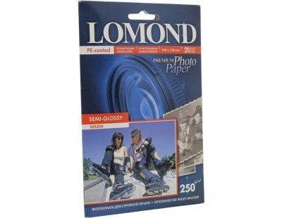 Фотобумага Lomond двухсторонняя глянцевая для лазерной печати A4, 250г/м2, 250л (0310541)