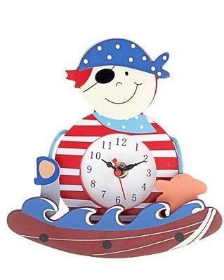 Часы настольные качалка «Пират» (118747)