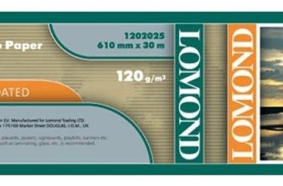 LOMOND XL матовая, ролик 610мм50,8 мм, 120 гм2, 30 м. (1202025)