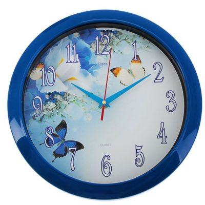 """Часы настенные """"Бабочки"""" (1213209)"""