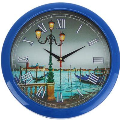 Часы настенные «Фонарь на набережной» (1301144)