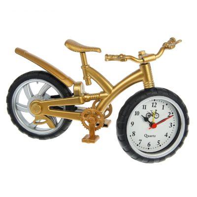 Будильник «Велосипед», цвет золото (1622227)