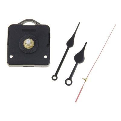Часовой механизм 3268 с подвесом, дискретный ход + комплект стрелок 69/92, чёрные (163147)