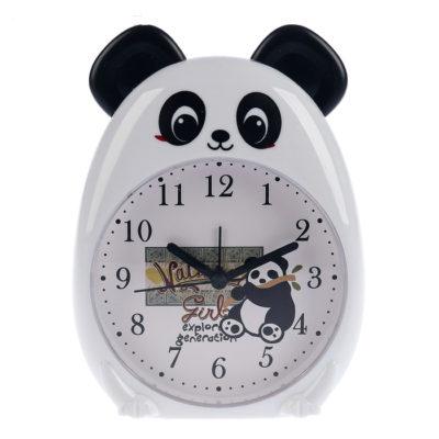 Будильник «Белая Панда», подсветка, 12*16 см (2778931)