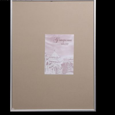 Фоторамка 60х80 см сосна с19, цвет серебро (4336843)