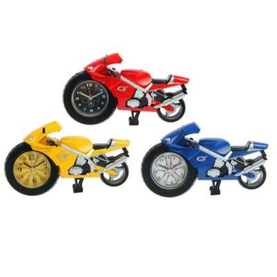 Будильник «Байк цветной», часы на колесе,14*23 см (729478)