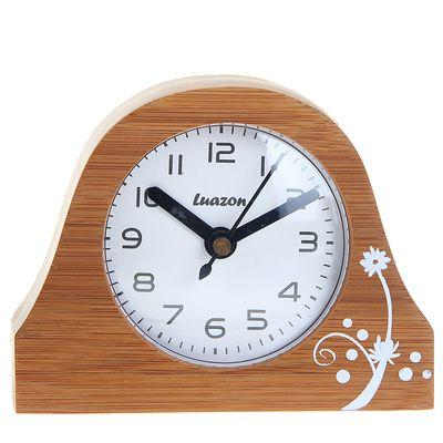 Часы настольные на подставке «Серия Дерево. Классика», дискретный ход (872868)