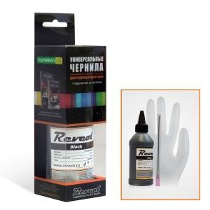 Чернила Revcol для Epson, Black, Dye, 100 мл. 126387
