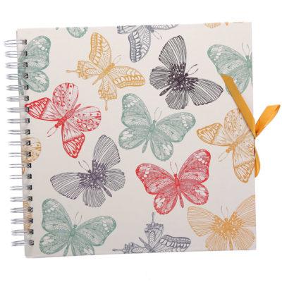 """Фотоальбом """"Butterflies"""" Innova, 25 листов на пружине (2934129)"""