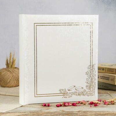 Фотоальбом «Традиционный свадебный альбом», Innova, 40 листов под уголки (3810428)