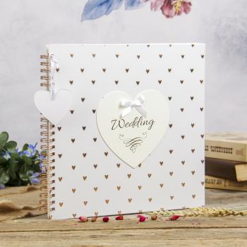 Фотоальбом скрапбуккинг «Свадьба», Innova, на пружине, 25 листов под уголки (4044171)