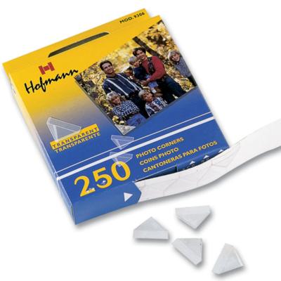 Уголки Hofmann 250 прозрачных уголков для вставки фото (9306)