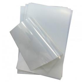 Пленка (РЕТ) A4, 10л, прозрачная для струйной печати, 68808