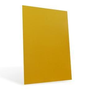 Листовой пластик ПВХ для струйных принтеров, золотой, А4 0,3 мм, 1 л., 128982