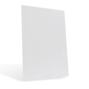Листовой пластик ПВХ для струйных принтеров, белый, А4, 0,15 мм, 1 л., 128985