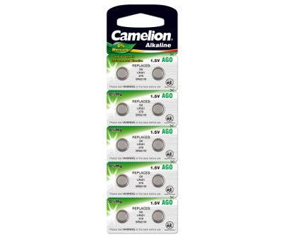 Элемент питания Camelion G0 (379/10) (1 шт.), 25016