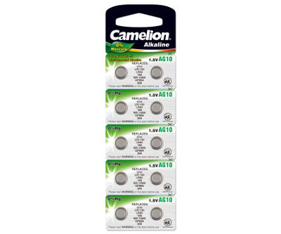Элемент питания Camelion G10 (389/10) (1 шт.), 25022