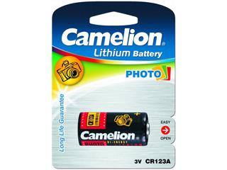 Элемент питания Camelion CR 123 BL-1 (шт.), 25321