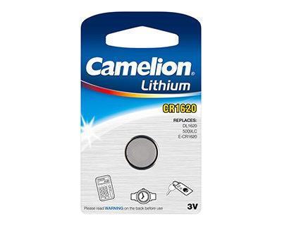 Элемент питания Camelion CR 1620 BL-1 (шт.), 26732