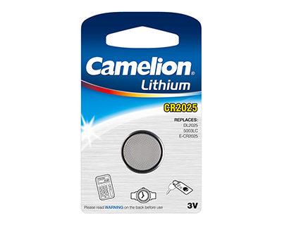 Элемент питания Camelion CR 2025 BL-1 (шт.), 26734
