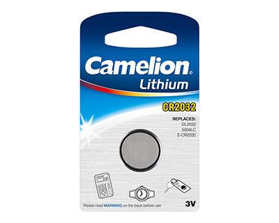 Элемент питания Camelion CR 2032 BL-1 (шт.), 26738
