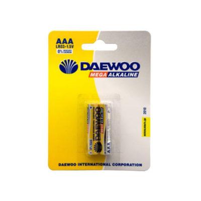 Элемент питания Daewoo LR 03 BL-2 (шт.), 3157