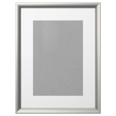 Рама СИЛВЕРХОЙДЕН, 50x70 см, серебристый 4130911