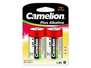 Элемент питания Camelion LR 20 BL-2 (шт.), 43280