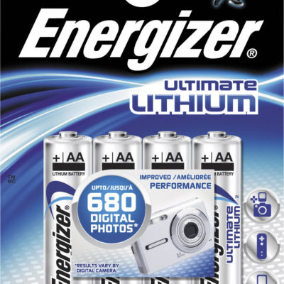 Элемент питания Energizer FR6 BL4 Lithium, 67966
