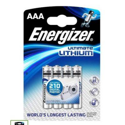 Элемент питания Energizer FR03 BL4 Lithium, 67967