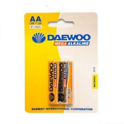 Элемент питания Daewoo LR 06 BL-2 (шт.), 91